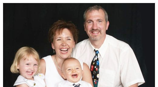 Chiropractors Lancaster OH Robert Sparks Laura Sparks and Children